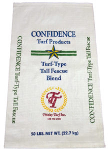 Trinity Confidence Turf Type Tall Fescue Blend